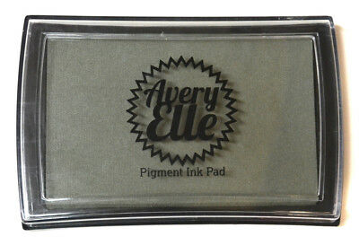 Avery Elle Pigment Ink Pad - Fog - Includes free ink refill