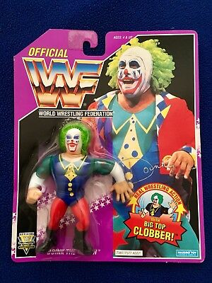 WWF Hasbro Doink The Clown Wrestling Figure