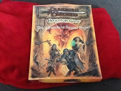 Dungeons and dragons Adventure game