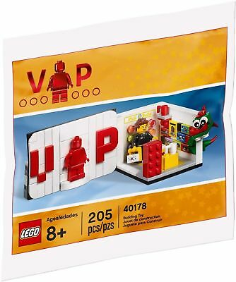 LEGO VIP 40178 Mini Lego Store EXCLUSIVE & Very Rare Set Brand NEW & SEALED