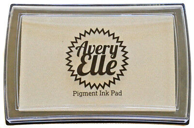Avery Elle Pigment Ink Pad - Silver Fox - Includes free ink refill