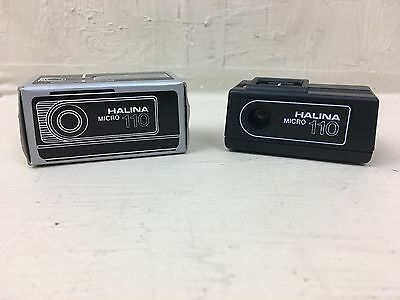 Halina Micro 110 mini / spy camera - vintage  - boxed with instructions