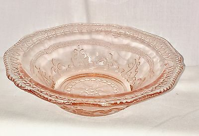 """Federal PATRICIAN PINK *5"""" BERRY BOWL*"""