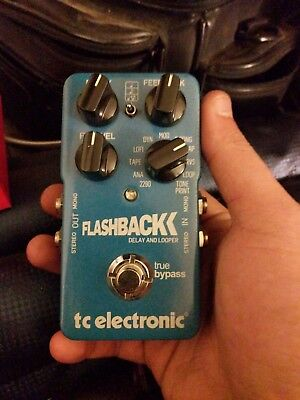 TC Electronic Flashback Delay Guitar Effect Pedal