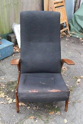 Vintage Retro Gimson Slater Rock And Rest Chair