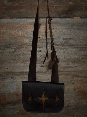 Leather Muzzleloader Possibles Bag Pouch