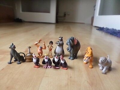 12    Figure  Disney  The Jungle Book      figurine toys cake toppers