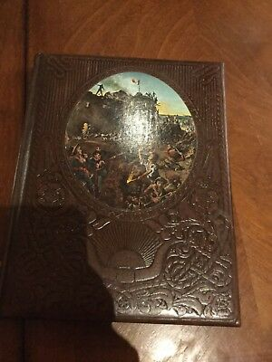 The Texans By Time Life Leather Bound Hardcover Book.