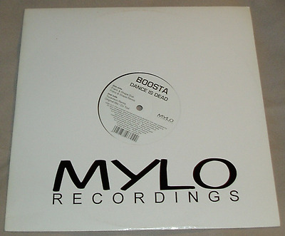 "12"" Boosta ""Dance is Dead"" (Mylo Recordings)"