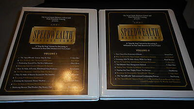 Speed Wealth Master Camp Series Vol 1  2 26 Cassettes  A Millionaire In 3 Years