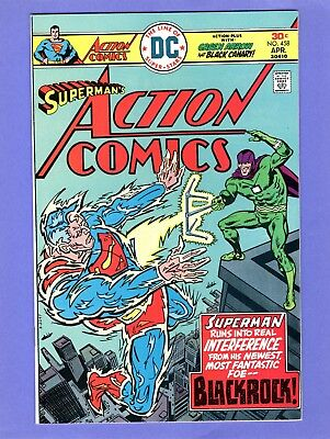 Action Comics #458 - Green Arrow, Black Canary -- -- NM cond.