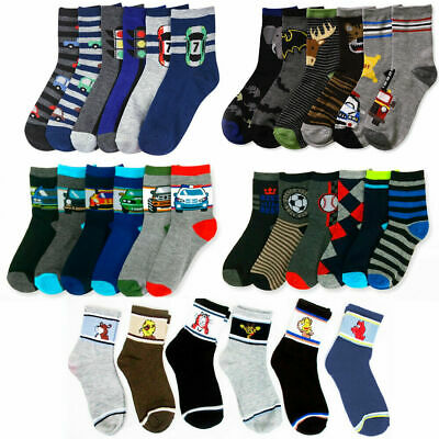 120 Pairs Children's Boys Socks Kids Mixed Sizes Wholesale Job lot