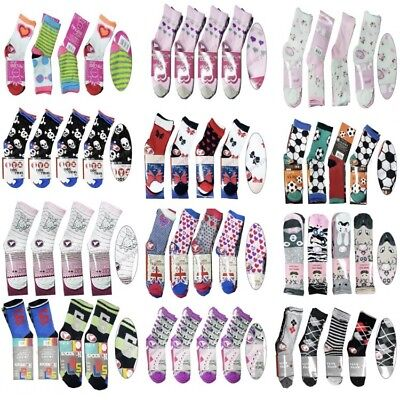 120 Pairs Children's Girls Socks Kids Mixed Sizes Wholesale Job lot