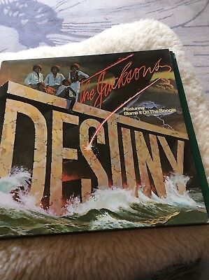 THE JACKSONS DESTINY UK LP EPIC UK 1978 MICHAEL JACKSON -Ex.