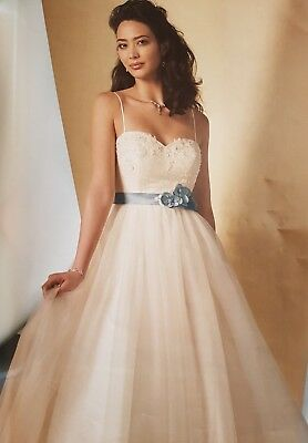 alfred angelo 2446 wedding dress size 12
