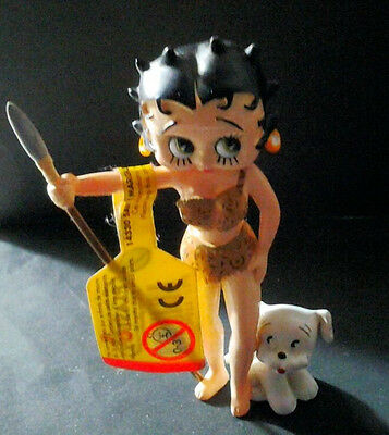 Bullyland Betty Boop Vintage Bully Lancia E Cane
