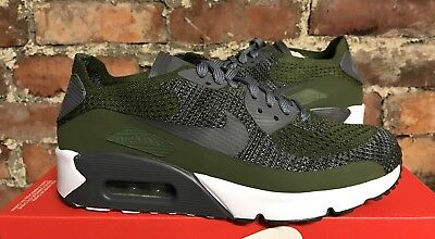 the latest 13c6c bd813 ... discount nike air max 90 ultra 2.0 flyknit uk6 eur40 rough green grey  white 875943 300