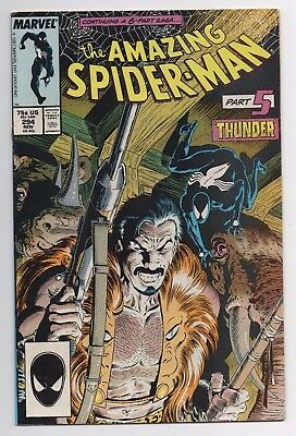 Marvel Comics The Amazing Spider-Man #294 Death of Kraven Copper Age