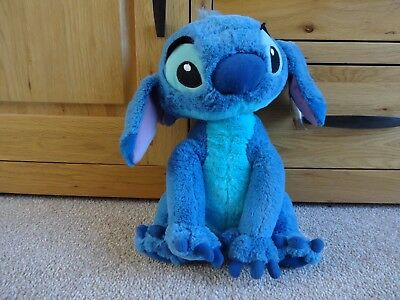 """Disneyland Paris Exclusive 12"""" Sitting STITCH Soft Toy with Tags"""