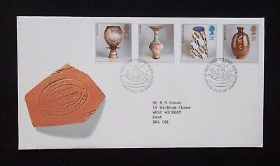 Stamps.1987.  First Day Cover. Studio Pottery