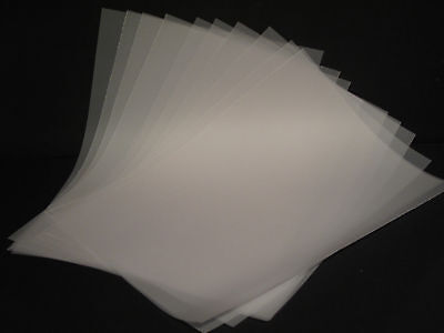 A4 Translucent Vellum (Parchment) Paper - White - Pack of 25 - High Quality