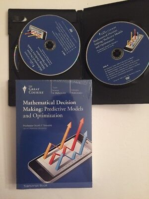 The Great Courses Mathematical Decision Making:Predictive Models & Optimization