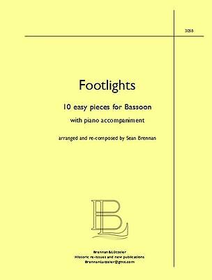 """Footlights"" for Bassoon & Piano, 10 easy pieces"