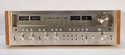 Pioneer Sx-1280 Receiver 185 Watts Per Channel Great Working Cosmetic Condition!