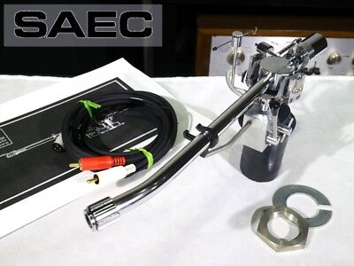Beautiful SAEC WE-308 Tonearm with Phono Cable F/S