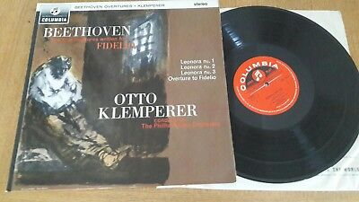 Columbia SAX 2542. Beethoven overtures. Leonore. Klemperer. Semi circle 1st.