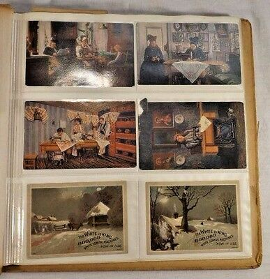 Antique Turn Of The Century Trade/Advertisement Card Set