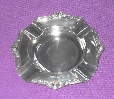 Vintage 1960 Garrard & Co Of Regent St Solid Sterling Silver Ashtray Antique