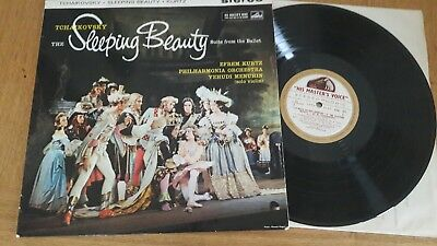 EMI ASD 371. The sleeping beauty suite. Efrem kurtz. Menuhin. White gold label.