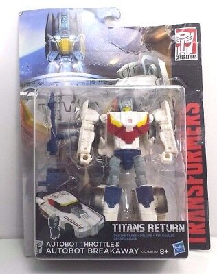 Breakaway with Throttle Titans Return Transformer NEW Sealed Box (MISB)  [BTTR2]
