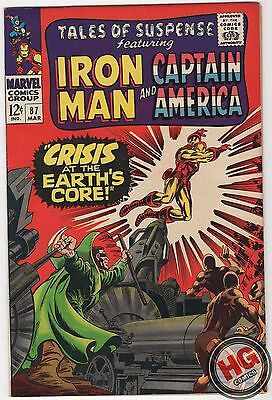 Tales of Suspense #87 3/67 Silver Age Marvel Comics IRON MAN CAPTAIN AMERICA