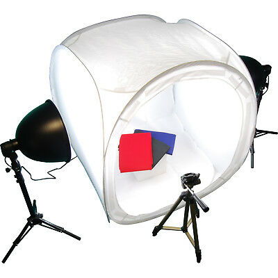 Photo Studio Lighting Kit with TENT+LIGHTS+STANDS+TRIPOD
