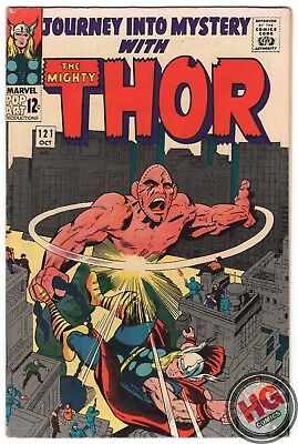 Journey Into Mystery Mighty Thor #121 10/65 Silver Age Marvel Loki Jane Foster