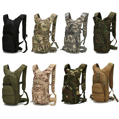 15L Outdoor Tactical Molle Military Rucksacks Backpack Travel Camping Bag Large