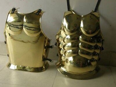 Spartan ROMAN Brass/Finish+BREATPLATE CUIRASS-MUSCLE ARMOR POLISHED FINISH