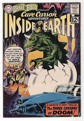 Brave and the Bold #40 3/62 Silver Age DC Comics Cave Carson Adventures