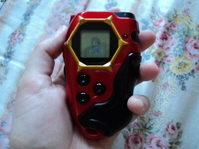 Takuya Red D-Tector Digivice - Digimon Frontier D-Scanner (SPA Version) D-Power