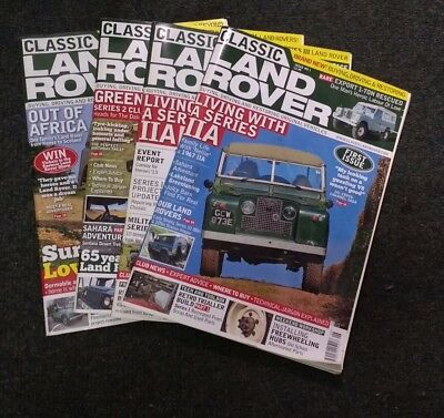 Land Rover Classic Magazine 2013 June & July issues 1 & 2