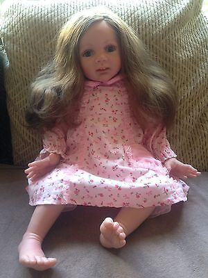 Toddler Girl Reborn Baby Doll And Clothes