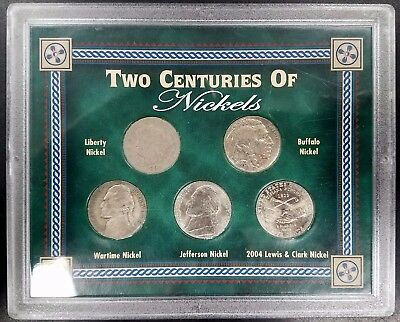 """Two Centuries of Nickels"" Collection! 1800's, 1900's, 2000's!"
