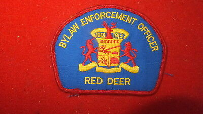 Patch - By-Law -  Red Deer, Alberta - Canada