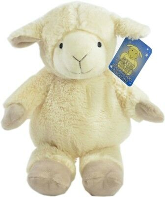Gorgeous Plush Faux Fur Bellywarmer Sheep Lavender Grapeseed Pack Heatable Toy