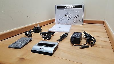 New Bose Wave Music System Dock for iphone & ipod - Titanium finish (30 pin).