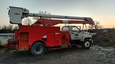 1994 Kodiak catepillar diesel bucket truck altec boom utility box