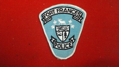 Police Patch  -  Fort Frances  , Ontario - Canada