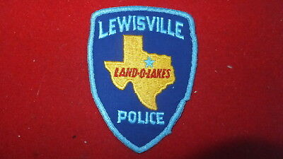Police Patch  -  Lewisville , Texas - US
